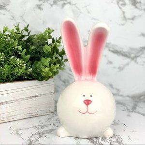 Pink Ear Easter Bunny Home Decor